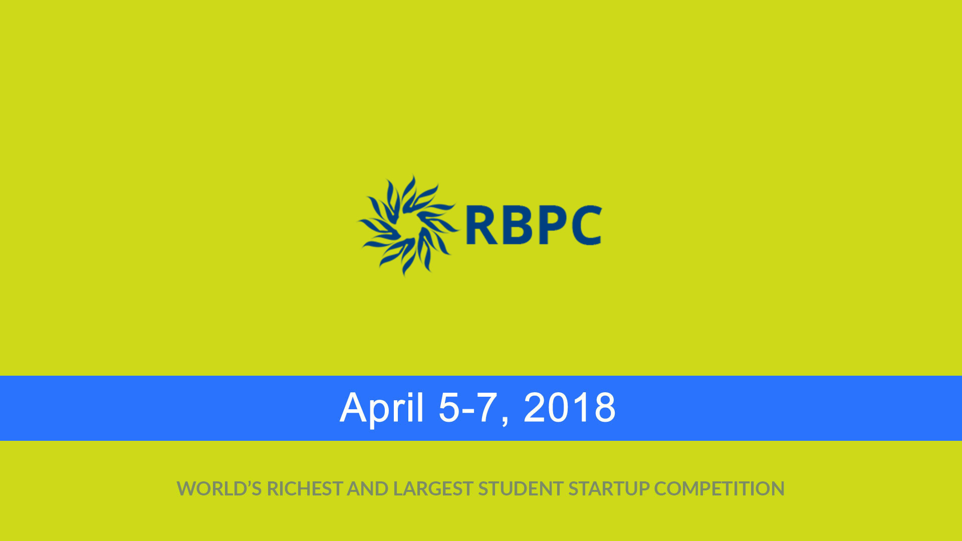 The Company is the world's richest and largest graduate-level student startup competition. It is hosted and organized by the Rice Alliance for Technology and Entrepreneurship, which is 's internationally-recognized initiative devoted to the support of entrepreneurship, and the Jesse H. Jones Graduate School of Business.